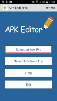 برنامه Apk Editor